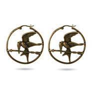 Hunger Games Inspired Mockingjay Earrings