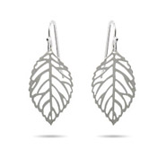 Filigree Autumn Leaf Dangle Earrings