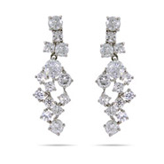 Beth's Diamond CZ Sparkling Cocktail Earrings