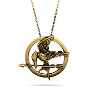 Hunger Games Inspired Mockingjay Pin Pendant