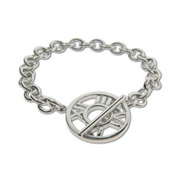 Tiffany Inspired Atlas Toggle Bracelet