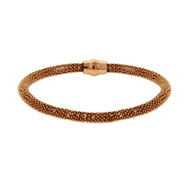 Rose Gold Vermeil 5mm Popcorn Bracelet