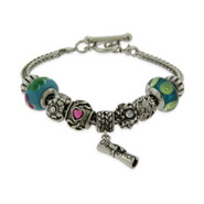 Happy Graduation Oriana Bracelet with 9 Beads