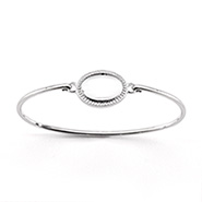 Engravable Baby ID Bangle Bracelet