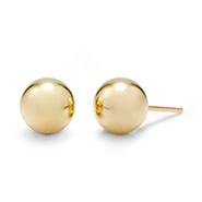 8mm 14K Gold Filled Bead Earrings