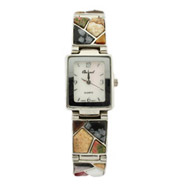 Genuine Multi Stone Fashion Watch