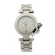 Designer Inspired Eight Stone CZ Fashion Watch