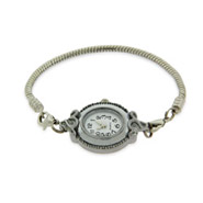 Ornate Oval Oriana Bead Watch - Pandora Bead & Bracelet Compatible