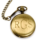 Treasured Times Collection by Eve Gold Engravable Pocket Watch