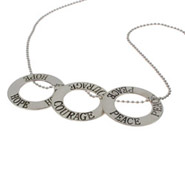 Sterling Silver Inspirational Necklace - Create Your Own!