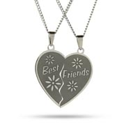 Engravable Best Friends Pendant Set