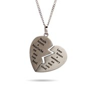 Broken Heart Bereavement Pendant