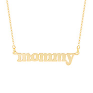 Gold Vermeil Mommy Necklace