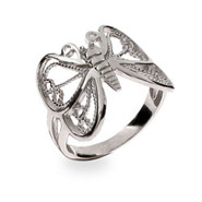 Mariah's Sterling Silver Butterfly Ring