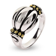 Steven Lagos Inspired Sterling Silver Shell Design Ring