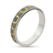 Eternity By Eve Grecian Sterling Silver Wedding Band