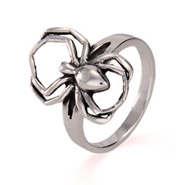 Sterling Silver Spider Ring