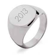 Oval Cut Graduation Ring For Men