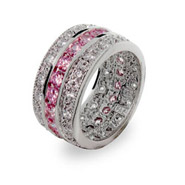 The Paris N' Pink Ring