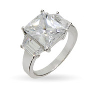 Sofia Vergara Replica Super Bling CZ Engagement Ring