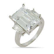 Kim Replica CZ Engagement Ring
