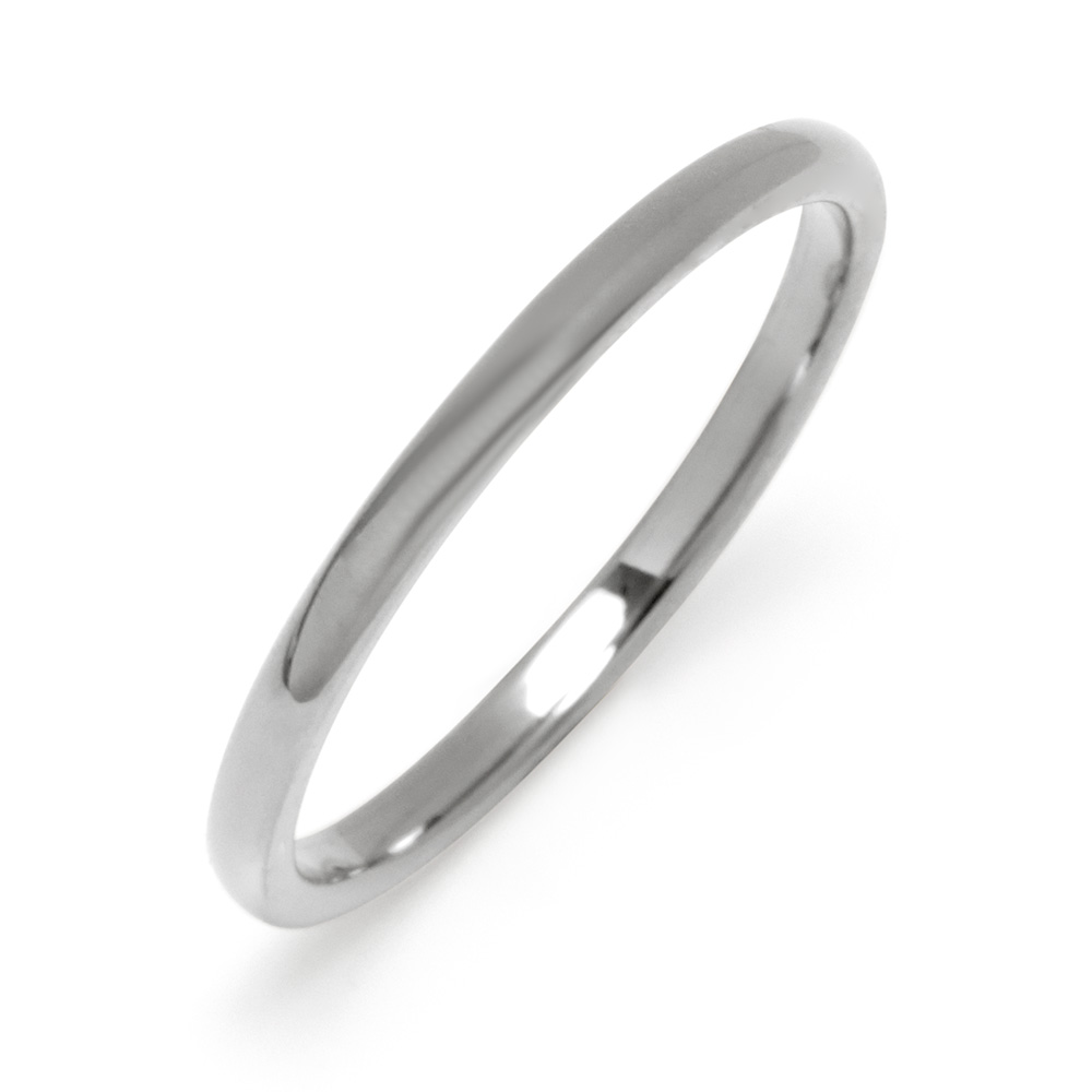 2 mm Thin Tungsten Wedding Band Are you looking for the perfect wedding band to fit around your finger? Well look no further! This 2MM Thin Tungsten Wedding Band is thin and durable for any day! The small wedding band is sleek and sufficient to fulfill anyone's needs! This ring comes in sizes 5-10 so both men and women can wear it!  Details: • Unisex Wedding Band Design • Durable Tungsten Material • Lightweight & Comfortable Fit • Perfect for Everyday Wear & Travel • Arrives with Complimentary Gift Box