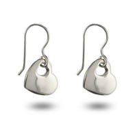 Some simple Silver Heart Dangle Earrings compliment this flirty sundress without being too dressy. Get the look for less at Eve's Addiction!