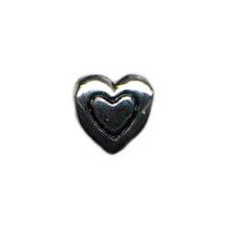 Heart Within Heart Oriana Bead - Pandora Bead & Bracelet Compatible