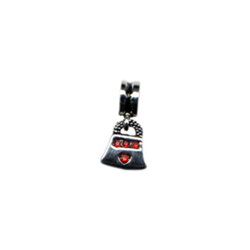 Red Diamond Dangling Purse Oriana Bead - Pandora Bead & Bracelet Compatible