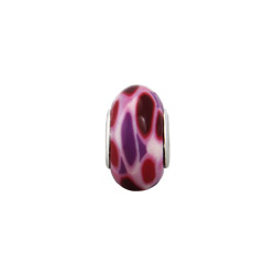 Red and Purple Swirl Oriana Bead - Pandora Bead & Bracelet Compatible