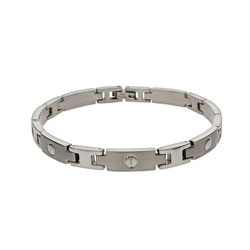 Designer Inspired Thin Men's Stainless Steel Bracelet