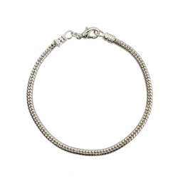 Oriana Bead Bracelet with Lobster Clasp - Pandora Bead Compatible