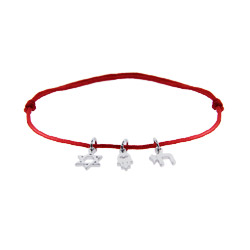 Magical Protection Multi Charm Adjustable Hamsa Bracelet