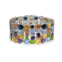 The Sparkling Multi Color Kaleidoscope Bracelet