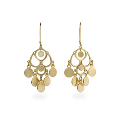 Jada's Gold Dangle Chandelier Earrings