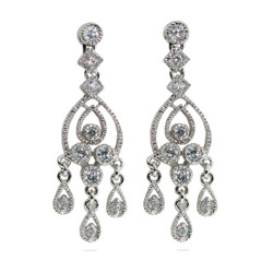 Celebrity Style Chandelier Earrings
