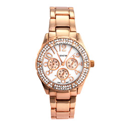 Bella's Glamorous CZ and Rose Gold Watch