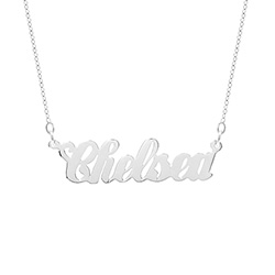 Simple Script Custom Name Necklace