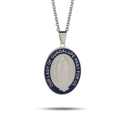 Our Lady Of Guadalupe Engravable Medal