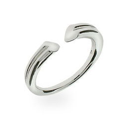 Tiffany Inspired Sterling Silver Tenderness Heart Ring