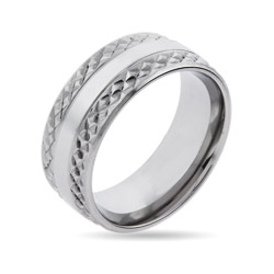 Men's Stainless Steel Titan Ring