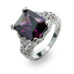 The Desperate Housewives Amethyst Ring