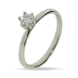 Stackable Reflections Brilliant Cut CZ Stackable Ring