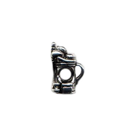 Golf Bag with clubs Oriana Bead - Pandora Bead & Bracelet Compatible