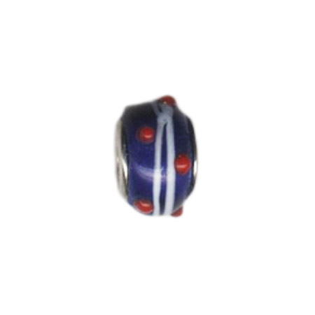 Hard Candy Glass Oriana Bead - Pandora Bead & Bracelet Compatible