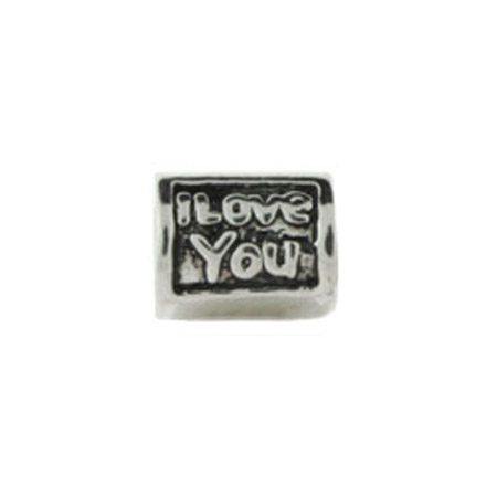 I Love You Barrel Oriana Bead - Pandora Bead & Bracelet Compatible