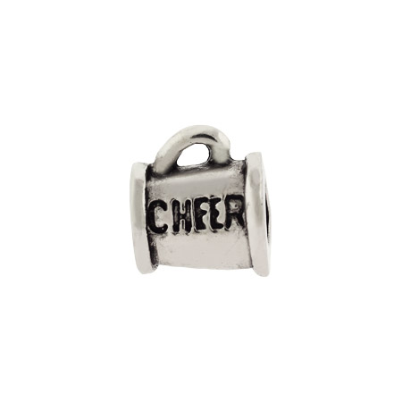 Cheerleaders Cheer Horn Oriana Bead - Pandora Bead & Bracelet Compatible