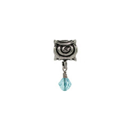 Dangling Scroll March Oriana Bead - Pandora Bead & Bracelet Compatible