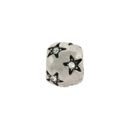 Diamond CZ Stars April Birthstone Oriana Bead - Pandora Bead & Bracelet Compatible