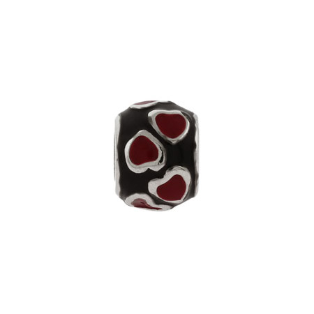 Ring Of Red Hearts Oriana Bead